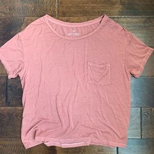 American Eagle Soft and Sexy Relaxed Tee